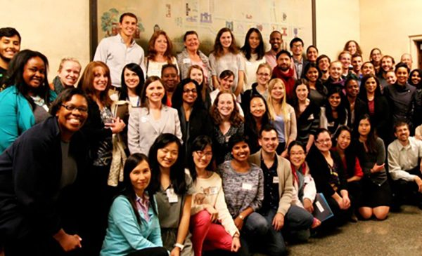 The 2014-15 cohort of the Interprofessional Approaches to Health Disparities course.