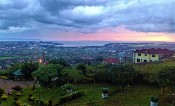 A view of Kisumu, Kenya at night.  Kisumu is a place that SPH students and faculty frequently travel to for public health practice and research.