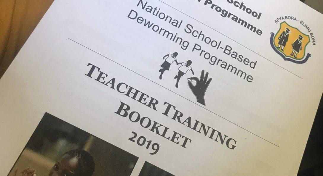 Deworming Training for local school teachers
