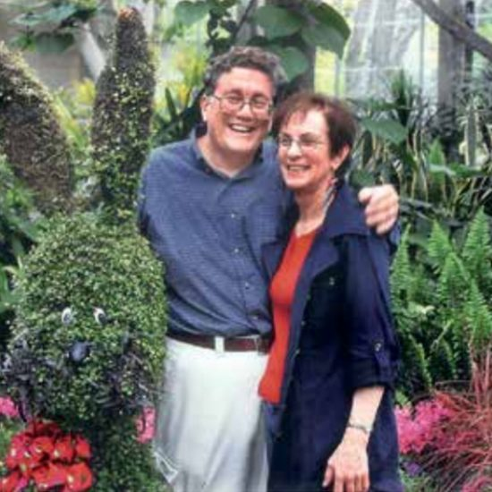 Robert and Linda Kay pose for a photo at an SPH alumni event at the Garfield Conservatory.