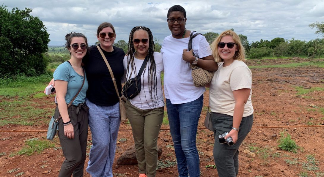 The group at Nairobi National Park