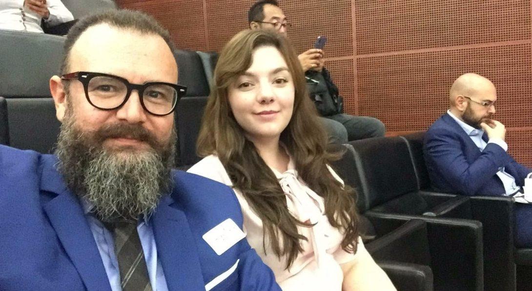 Dr. Infante and Sara Izquierdo