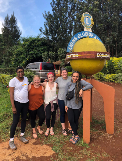 Group Picture at the Equator