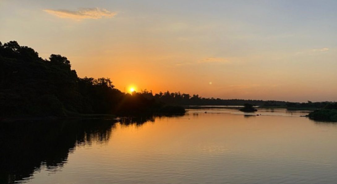 Sunset at the Nile