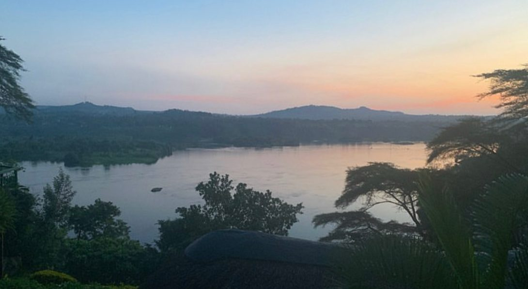 The Nile from Base Camp