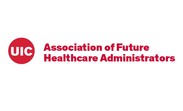 The logo for the Associatin of Future Healthcare Administrators.