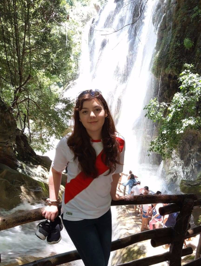 At a Waterfall in Taxco, Guerrero
