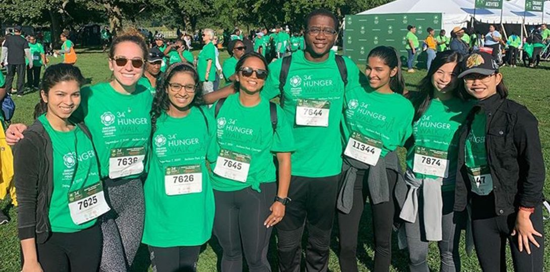2019 Hunger Walk - Greater Chicago Food Depository - UIC MHA Students