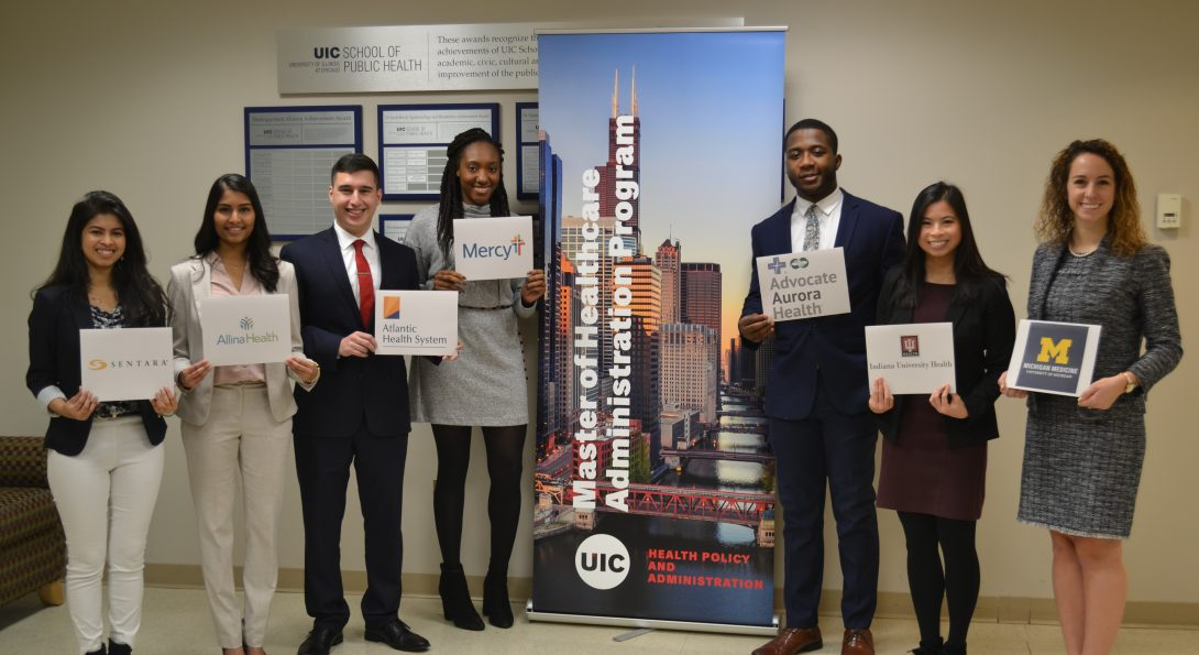 2019-20 MHA students receive administrative fellowships