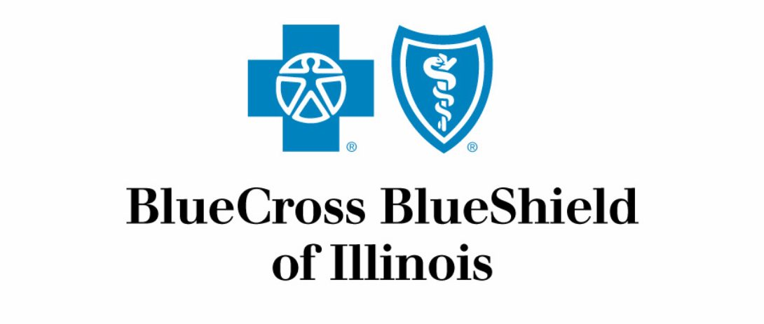 BlueCross BlueShield of Illinois logo.