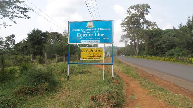 Equator Line @ Maseno