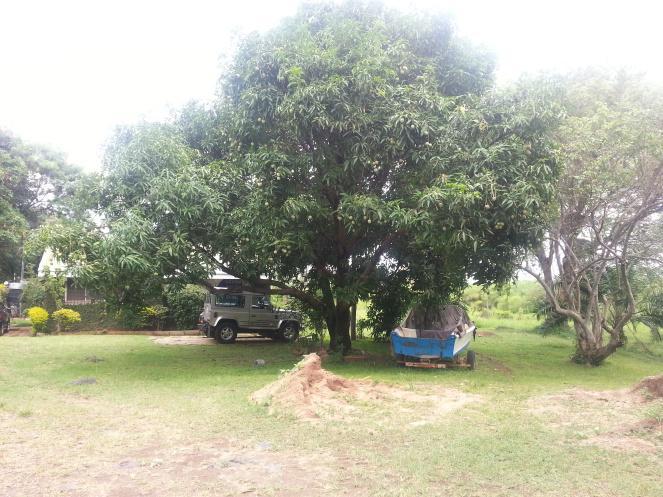 Where I lodge next to Lake Victoria