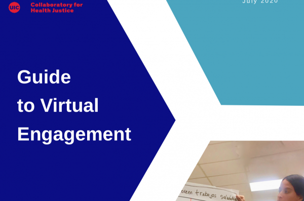 Front cover of the guide to virtual engagement