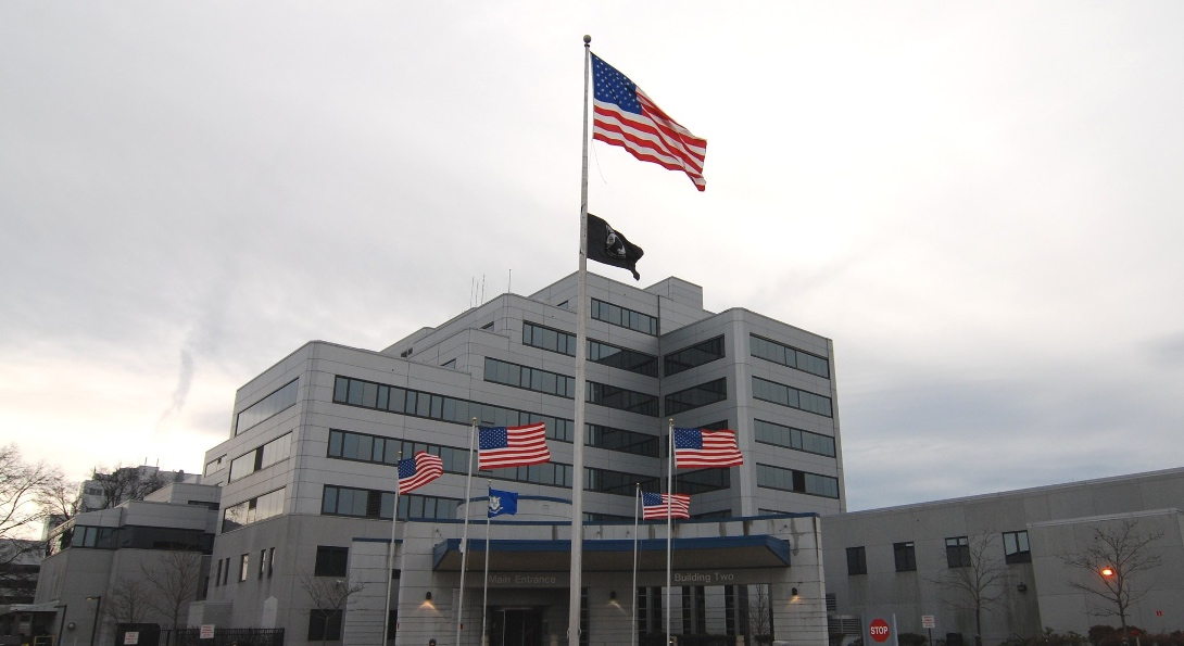 VA Connecticut Healthcare headquarters in New Haven, Connecticut.