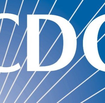 The logo of the Centers for Disease Control and Prevention.