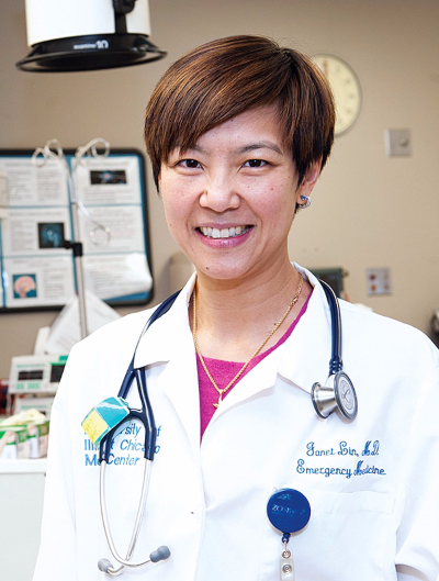 Dr. Janet Lin headshot.
