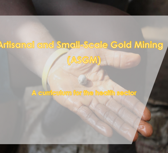 Artisanal and Small-Scale Gold Mining: A Curriculum for the Health Sector