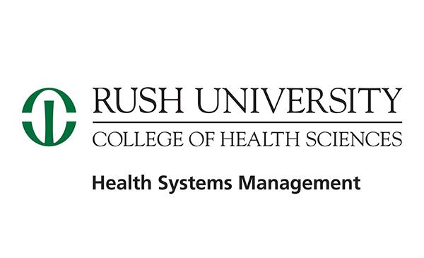 Rush University College of Health Sciences logo.