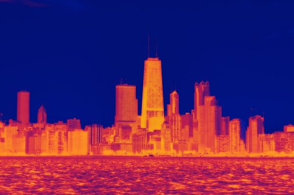 heat map of Chicago